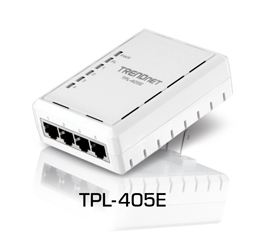 TRENDnet® Demonstrates First 500Mbps Powerline Adapter with Four Integrated Gigabit Ports