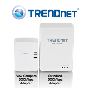 Trendnet Network on Trendnet   Ships World   S Smallest Powerline Networking Adapter