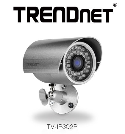 TRENDnet Releases Compact Outdoor Bullet IP Camera
