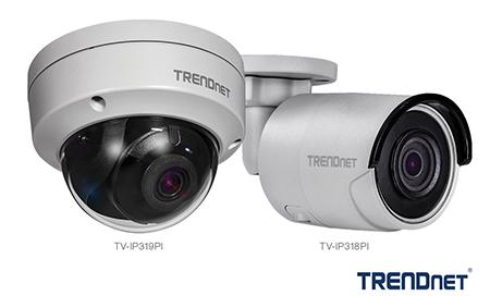 TRENDnet | Press Releases | TRENDnet 4K PoE cameras with