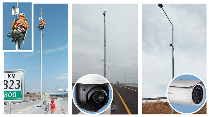 Remote Video Monitoring Highway Traffic