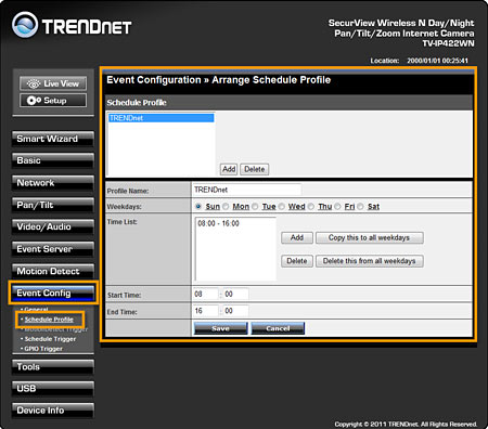 TRENDnet | Support | FAQ | TV-IP422WN | How do I configure