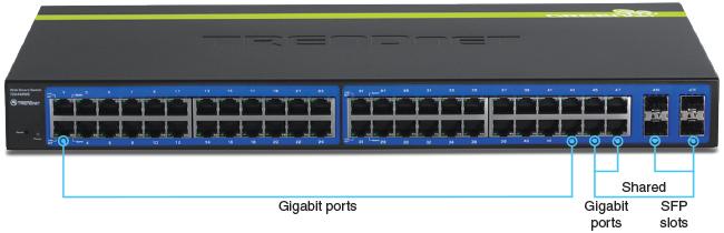 48-port Gigabit Web Smart Switch