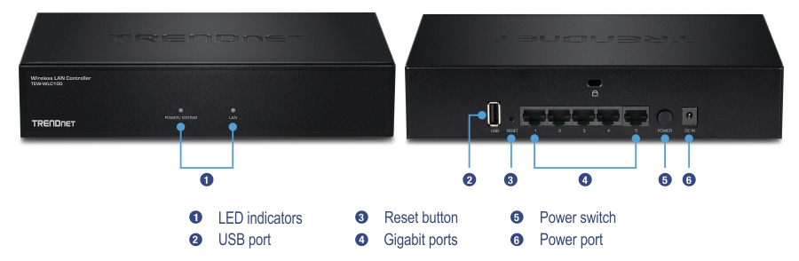 Wireless LAN Controller - Hardware Controller - TRENDnet TEW