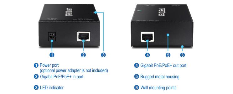 TPE-E110 POE repeater