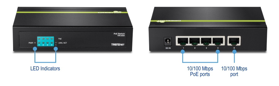 di_TPE S50(1.0R)_1 trendnet products tpe s50 5 port 10 100 mbps poe switch  at creativeand.co