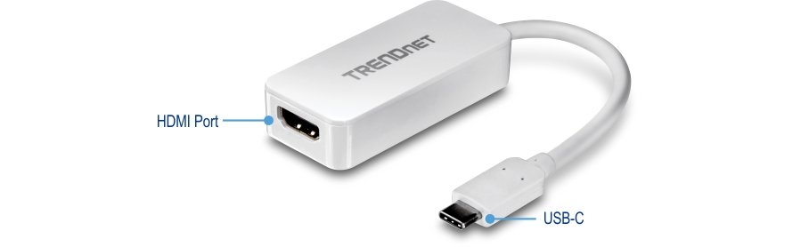 Usb C To Hdmi 4k Uhd Display Adapter Usb C Adapter Trendnet Tuc Hdmi