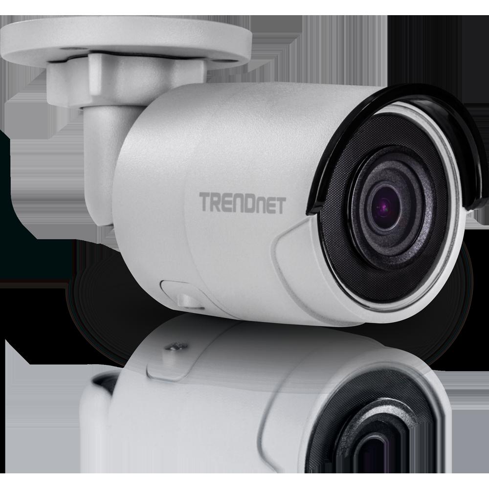 Indoor / Outdoor 4MP H 265 WDR PoE IR Bullet Network Camera