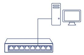 8-Port Gigabit EdgeSmart Switch
