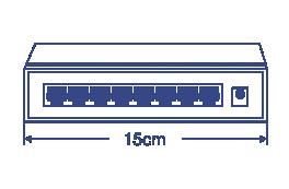 8-Port Gigabit GREENnet Switch