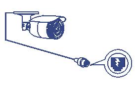 Camera hình trụ lắp trong nhà/ngoài trời TV-IP344PI