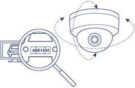 Camera bán cầu lắp đặt ngoài trời/ trong nhà, loại PTZ Dome - TV-IP420P