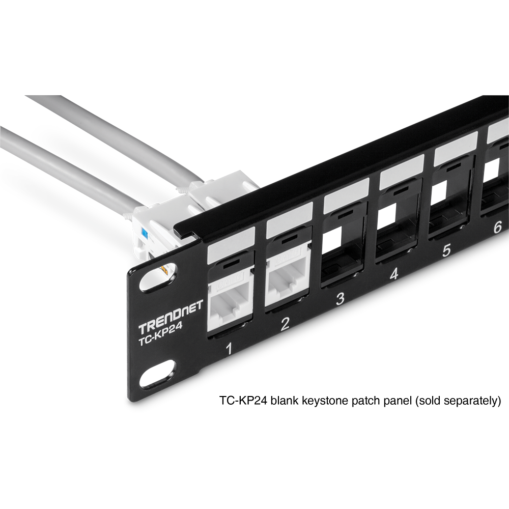 Cat6 Keystone Jack 25 Pack Trendnet Tc K25c6 Wiring Patch Panel Together With Termination