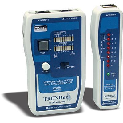 Probador De Cable De Red Trendnet Tc Nt2