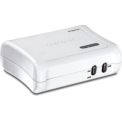 1-Port Print Server - TRENDnet TE100-P1U