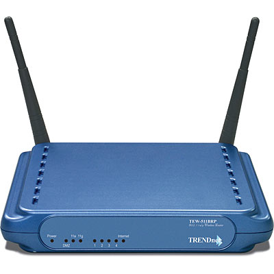 108mbps 802 11a G Wireless Ap Router Trendnet Tew 511brp