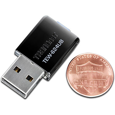 N300 Mini Wireless Usb Adapter Trendnet Tew 624ub