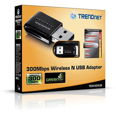 N300 Mini Wireless USB Adapter - TRENDnet TEW-624UB