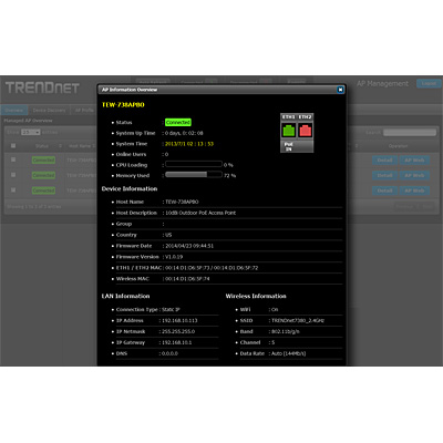 AP Management Software - TRENDnet TEW-APC1