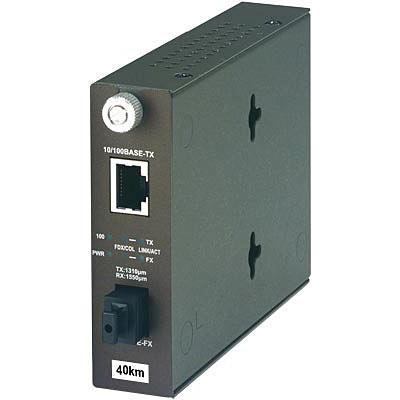 TRENDnet 100Base-TX to 100Base-FX Dual Wavelength Single Mode SC Fiber Converter TX 1550nm TFC-110S20D5 Lifetime Protection