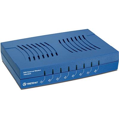 56k External Data Fax Tam Modem Trendnet Tfm 560x