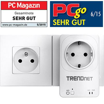 home smart switch mit wireless extender trendnet tha 101. Black Bedroom Furniture Sets. Home Design Ideas