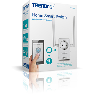 trendnet support tha 103ac home smart switch mit wi fi ac750 extender. Black Bedroom Furniture Sets. Home Design Ideas