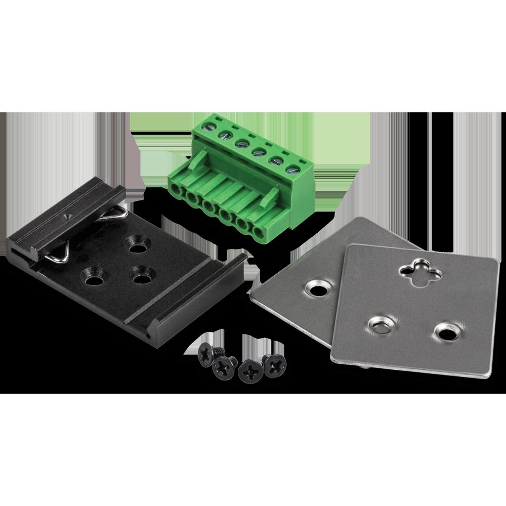 6-Port Hardened Industrial Gigabit DIN-Rail Switch