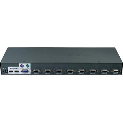 8Port USBPS2 Rack Mount KVM Switch TRENDnet TK803R