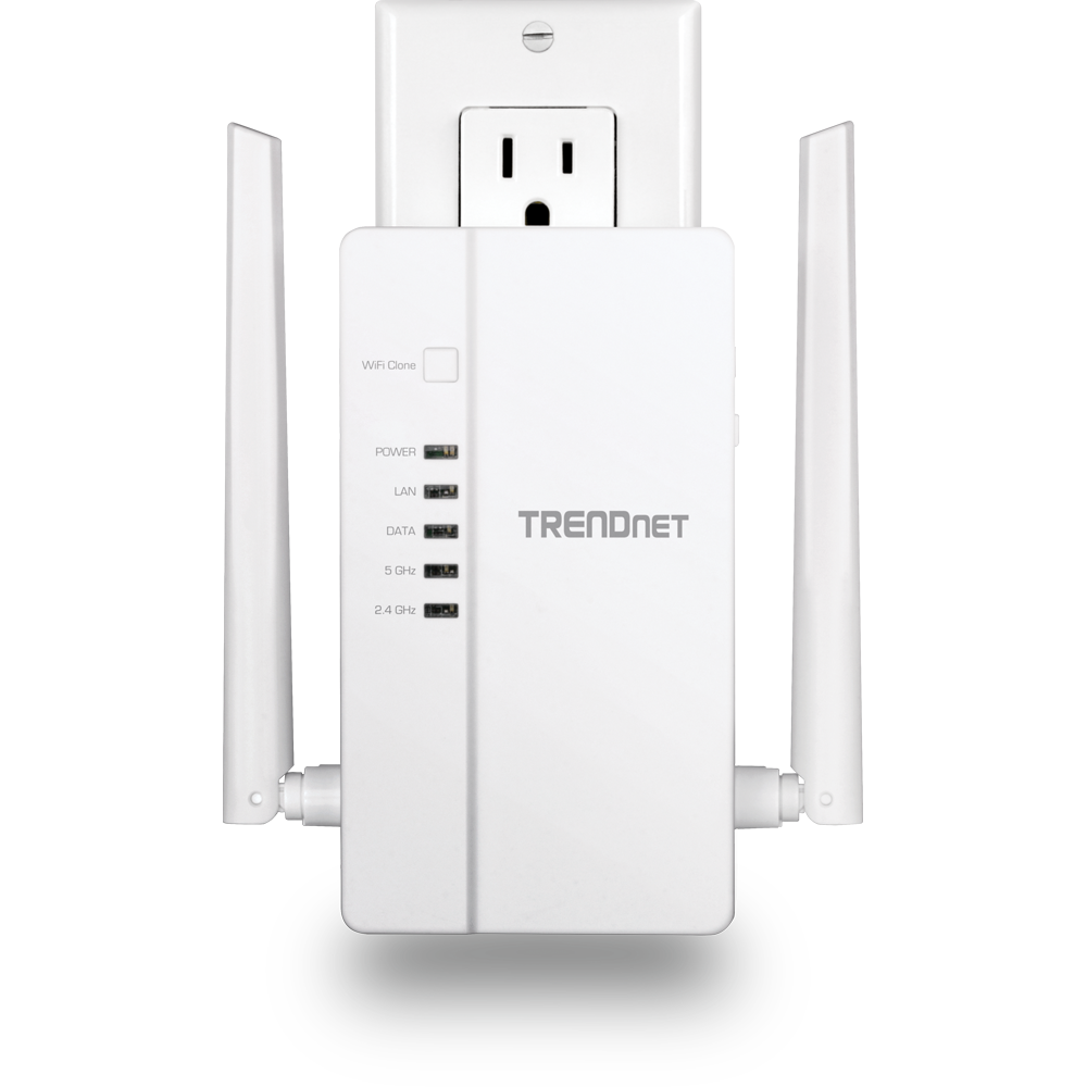 WiFi Everywhere™ Powerline 1200 AV2 Wireless Kit - Powerline