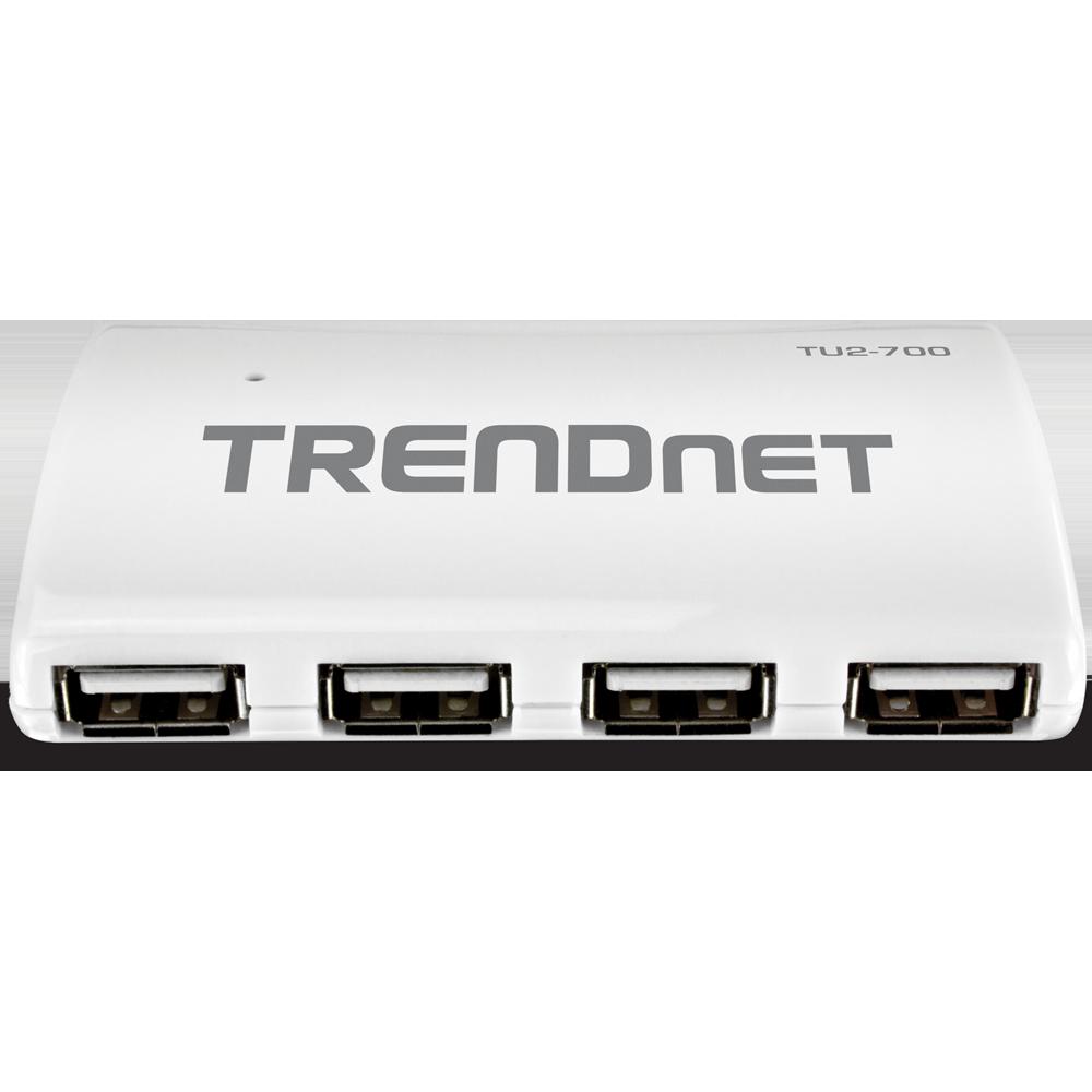 tu2700 Trendnet Tu2-700 High Speed Usb 2.0 7-port Hub