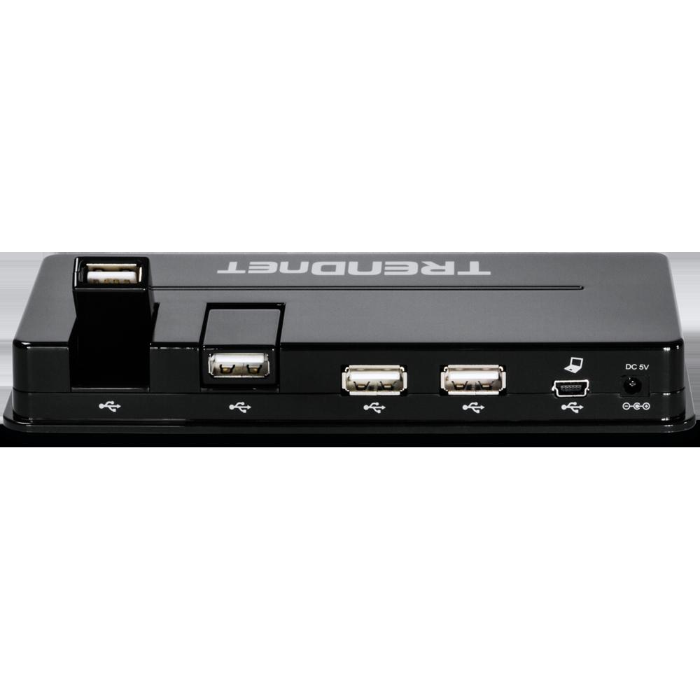 10 Port Usb Hub Trendnet Tu2 H10