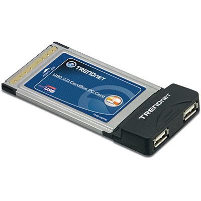 2 Port Usb Pc Card Trendnet Tu2 H2pc