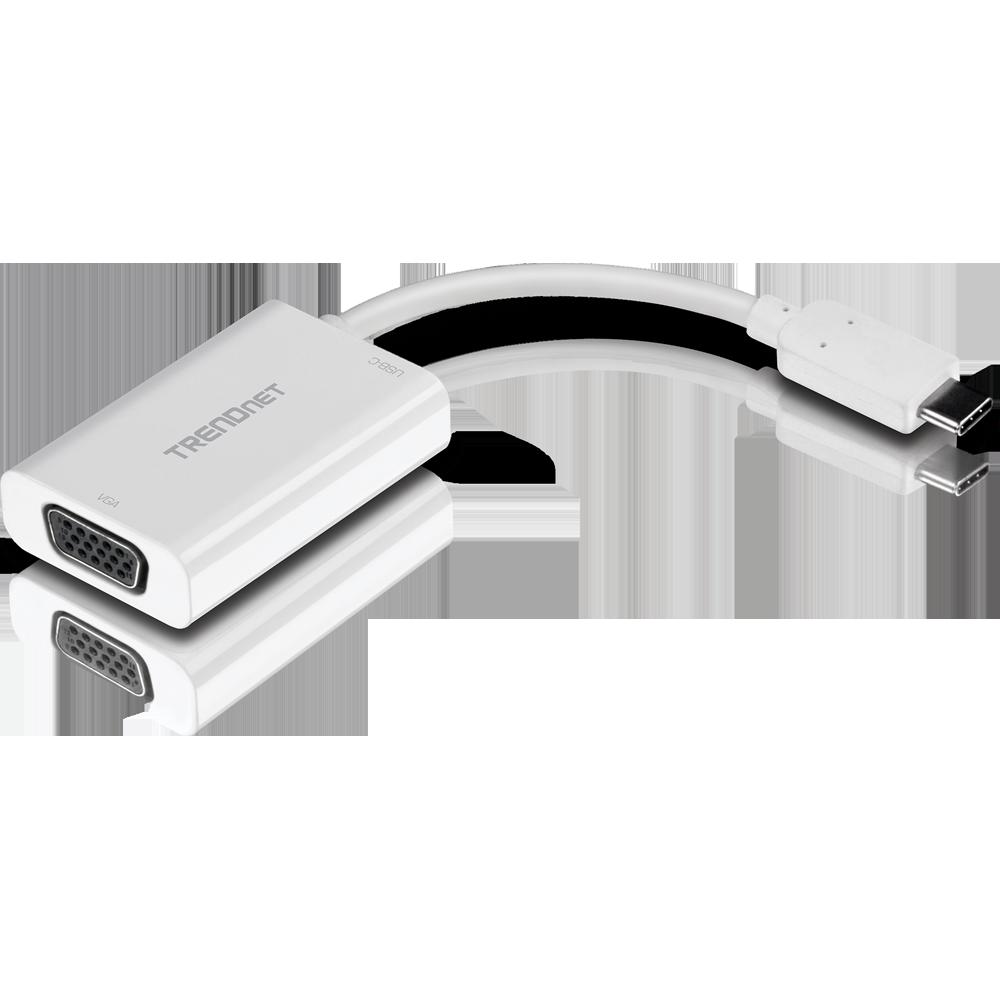 Usb C Zu Vga Adapter Mit Stromversorgung Pd Trendnet Tuc Vga2 Data Switch Wiring Diagram Mirror