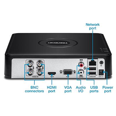 4-Channel HD CCTV DVR Surveillance Kit – Surveillance DVR