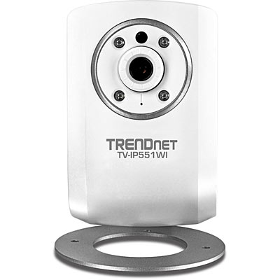 Wireless Day / Night Network Camera - TRENDnet TV-IP551WI