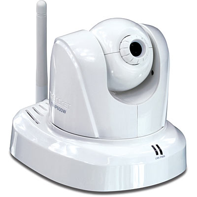Proview Wireless Pan Tilt Zoom Network Camera Trendnet