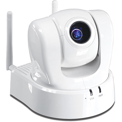 Wireless Ptz Network Camera Trendnet Tv Ip612wn