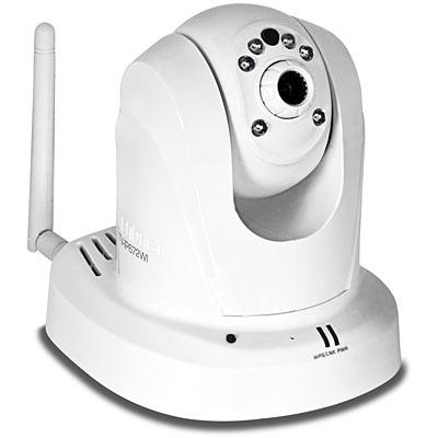 Megapixel HD Wireless Day / Night PTZ Network Camera - TRENDnet TV
