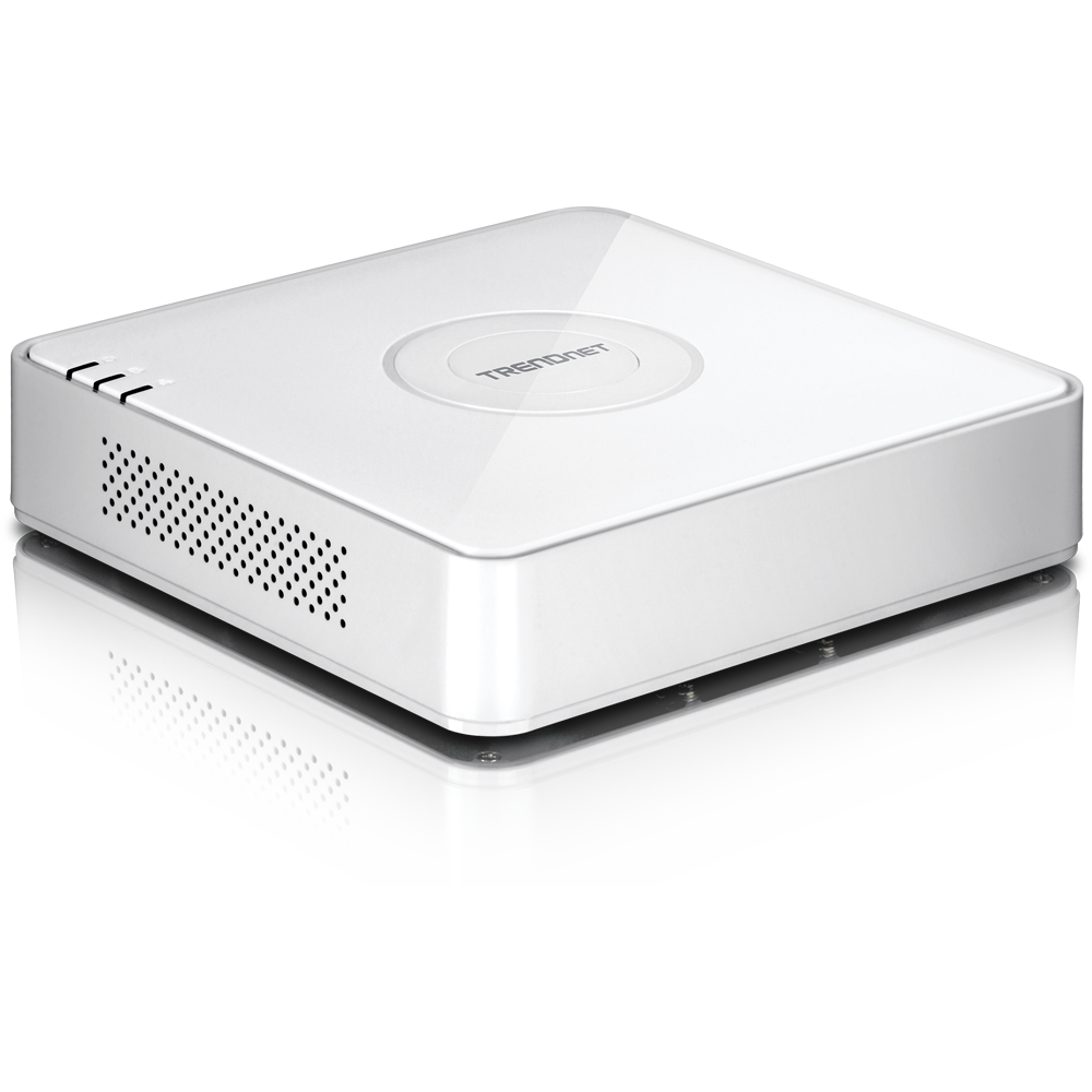 4-Channel HD PoE NVR - TRENDnet TV-NVR104