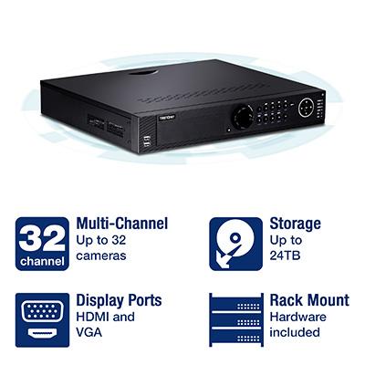 TrendNET 32-Channel HD NVR TV-NVR2432